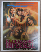 Sorority House Massacre Mexican Horror Poster